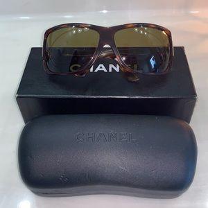Authentic Chanel Tortoise Sunglasses
